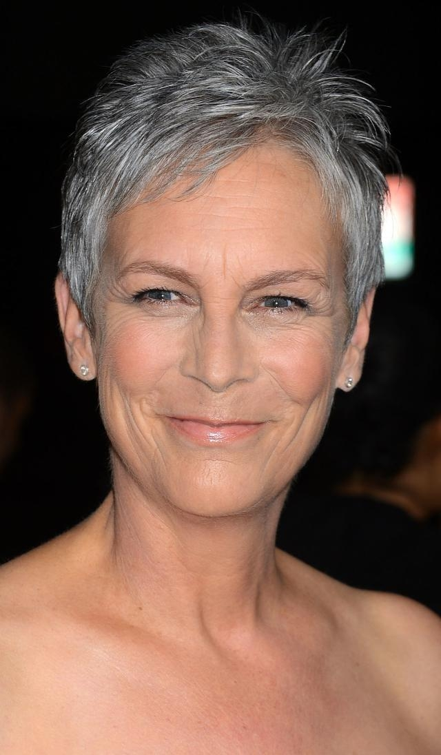 2018 Popular Jamie Lee Curtis Pixie Haircuts