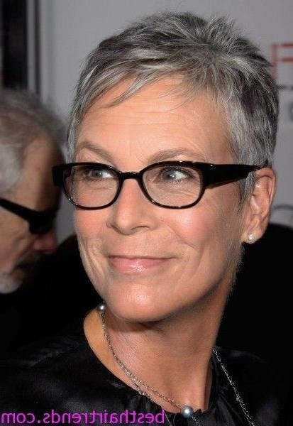 Photo Gallery Of Jamie Lee Curtis Pixie Haircuts Viewing 9 Of 20