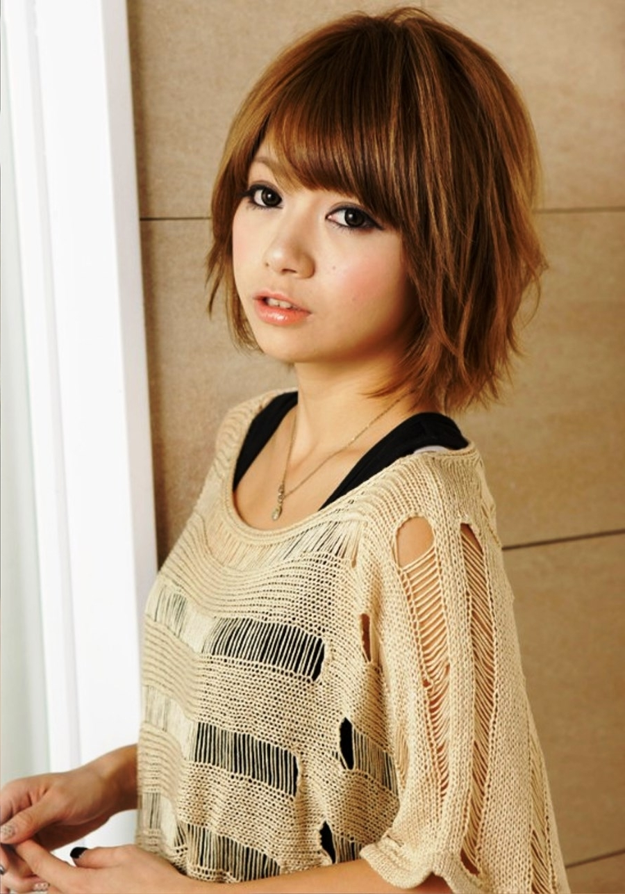 2017 Japanese Shaggy Hairstyles Pertaining To Emo And Harajuku Is A Most Model Of Japanese Hairstyle : Simple (View 3 of 15)