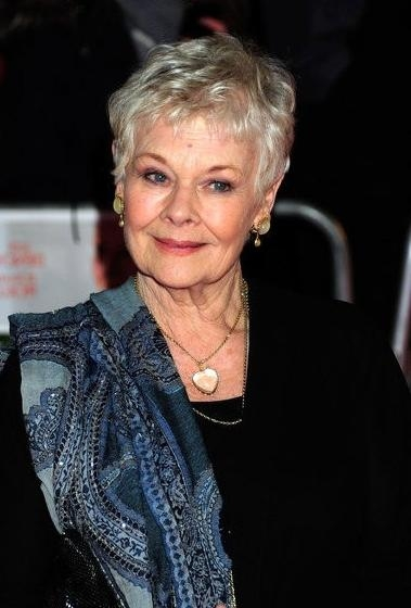 2017 Judi Dench Pixie Haircuts For 47 Best Dame Judy Dench Images On Pinterest (View 2 of 20)