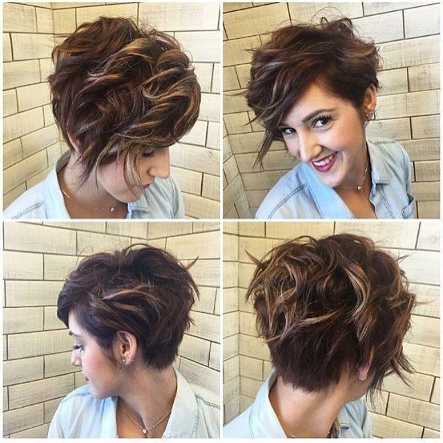 2017 Line Pixie Haircuts In Best 25+ Asymmetrical Pixie Ideas On Pinterest (View 3 of 20)