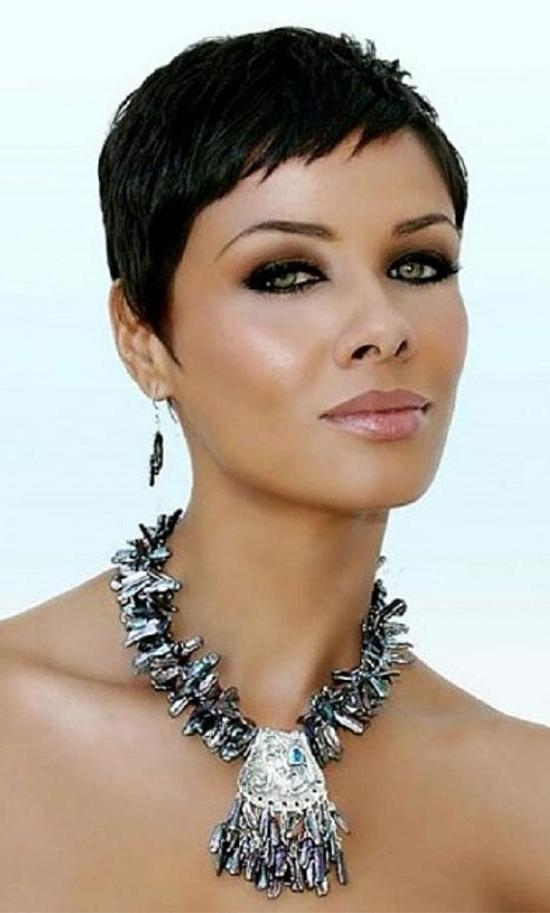 2017 Pixie Haircuts For Black Girl Intended For 15 Amazing Pixie Haircuts For Black Women (View 4 of 20)
