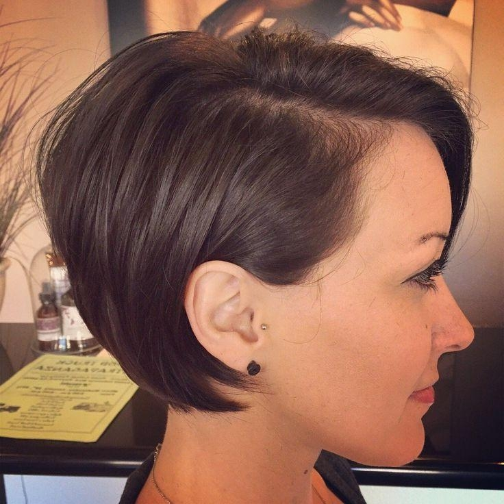 2017 Pixie Haircuts For Dark Hair Within Best 25+ Long Pixie Ideas On Pinterest (View 1 of 20)