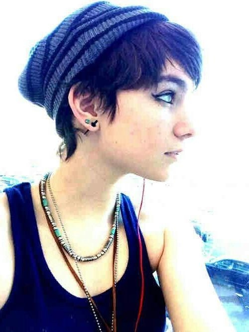 2017 Punk Pixie Haircuts Within Best 25+ Punk Pixie Cut Ideas On Pinterest (View 3 of 20)