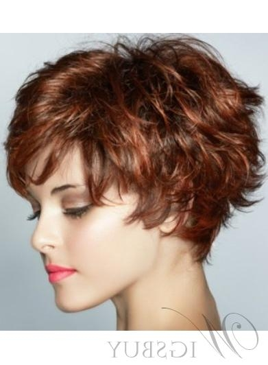 2017 Short Feathered Pixie Haircuts Inside Graceful Short Feathered Pixie Haircut With Wispy Bangs Synthetic (View 4 of 20)