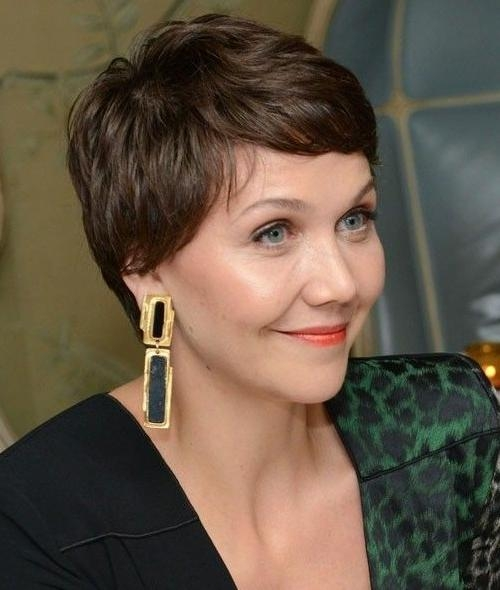 2017 Short Haircuts For Women Over 50 – Page 2 – Haircuts And Within Most Current Pixie Haircuts For Women Over (View 5 of 20)