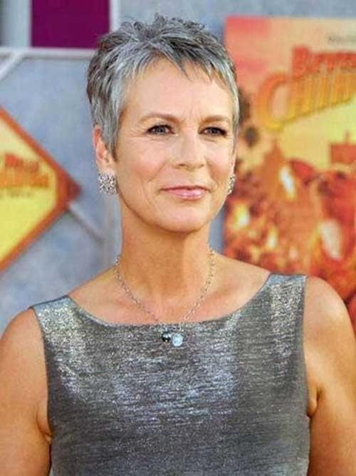 2017 Short Pixie Haircuts For Gray Hair With Photo Gallery Of Short Haircuts For Grey Hair (Viewing 18 Of (View 6 of 20)