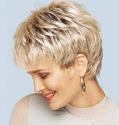 2017 Short Pixie Haircuts For Thick Hair Intended For Short Pixie Hairstyles 2014 –  (View 1 of 20)