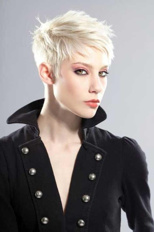 2018 Funky Short Pixie Haircuts Pertaining To Latest Layered Pixie Cuts You Will Love (View 3 of 20)