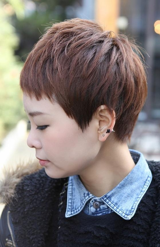 2018 Japanese Pixie Haircuts Pertaining To Sharp & Sexy 'rihanna' Pixie Cut – Boyish Asian Haircut For Female (View 2 of 20)