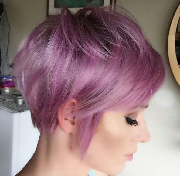 2018 Pixie Haircuts Colors In The 25+ Best Pixie Cut Color Ideas On Pinterest (View 2 of 20)