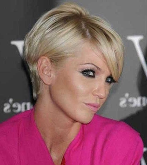 2018 Pixie Haircuts For Thin Hair Intended For Pixie Haircuts For Fine Hair (View 2 of 20)