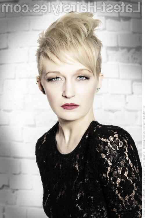 2018 Rock Pixie Haircuts For 31 Short Hairstyles For Round Faces You Can Rock! (View 2 of 20)