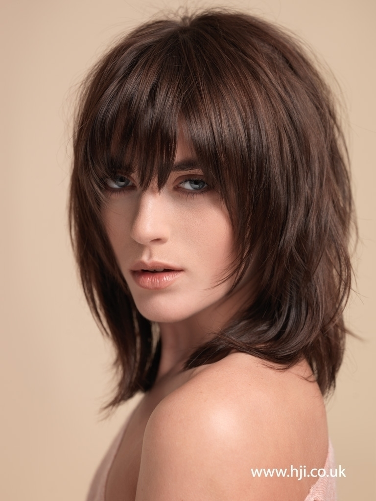 2018 Shaggy Messy Hairstyles Within Long Layered Shaggy Hairstyles Messy Bang Hairstyles For (View 2 of 15)