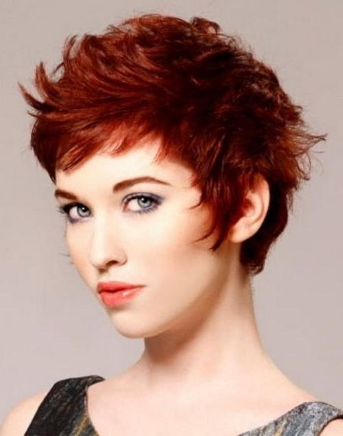 2018 Short Feathered Pixie Haircuts Pertaining To 20 Chic Pixie Haircuts Ideas – Popular Haircuts (View 5 of 20)