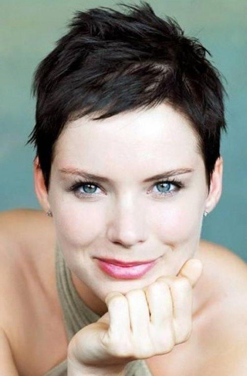 2018 Short Pixie Haircuts For Oval Faces In 10+ Cool Short Pixie Haircuts 2017 – Goostyles (View 6 of 20)