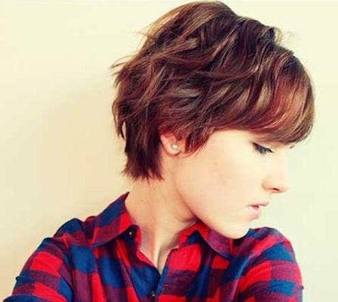 2018 Wavy Pixie Haircuts With 20 Best Short Wavy Haircuts For Women – Popular Haircuts (View 7 of 20)