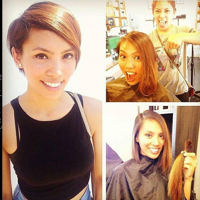 21 Stunning Long Pixie Cuts – Short Haircut Ideas For 2018 In Fashionable Long To Short Pixie Haircuts (View 7 of 20)