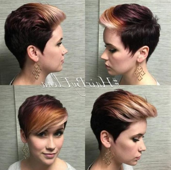 21 Stunning Long Pixie Cuts – Short Haircut Ideas For 2018 Pertaining To Preferred Pixie Haircuts Colors (View 3 of 20)