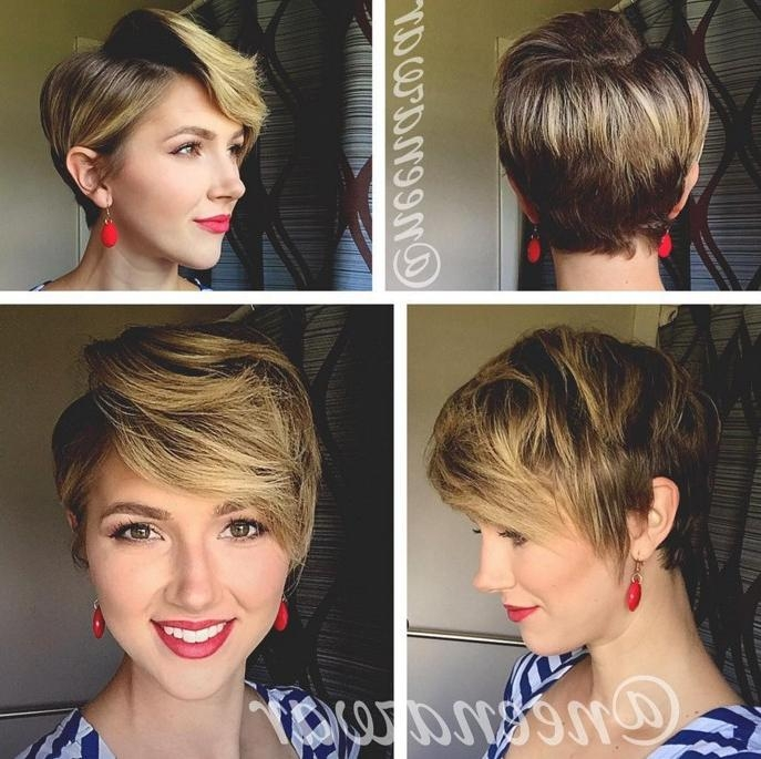 21 Stunning Long Pixie Cuts – Short Haircut Ideas For 2018 Throughout Trendy Pixie Haircuts Front And Back (View 9 of 20)