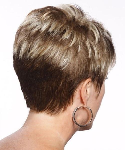21 Stylish Pixie Haircuts: Short Hairstyles For Girls And Women In Famous Back Views Of Pixie Haircuts (View 14 of 20)