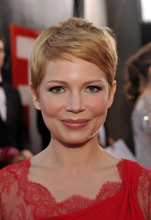 22 Flattering Hairstyles For Round Faces – Pretty Designs Regarding Best And Newest Super Short Pixie Haircuts For Round Faces (View 17 of 20)