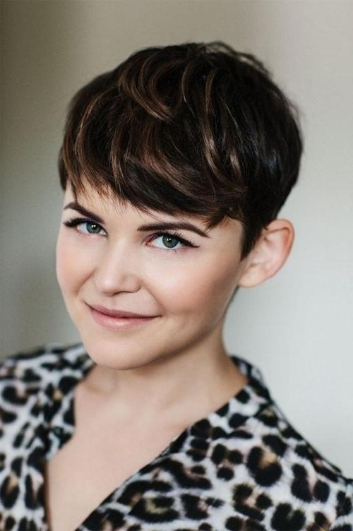 22 Great Short Haircuts For Thick Hair – Pretty Designs Within Famous Pixie Haircuts For Thick Wavy Hair (View 3 of 20)
