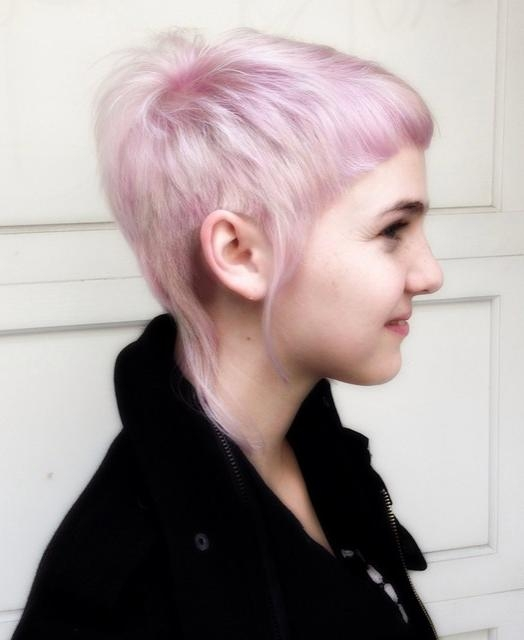22 Trendy Pixie Haircuts For Short Hair – Pretty Designs Pertaining To Most Popular Pink Short Pixie Haircuts (View 2 of 20)