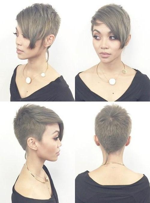 25 Amazing Short Pixie Haircuts & Long Pixie Cuts For Women 2017 Inside Best And Newest Short Pixie Haircuts With Long Bangs (View 4 of 20)