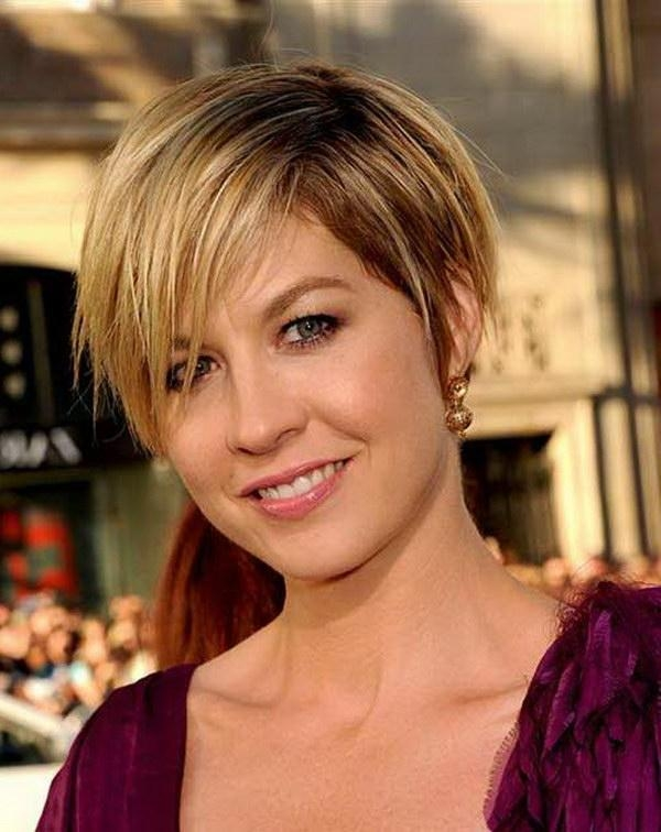 Photo Gallery Of Pixie Haircuts For Fat Face Viewing 17 Of 20 Photos