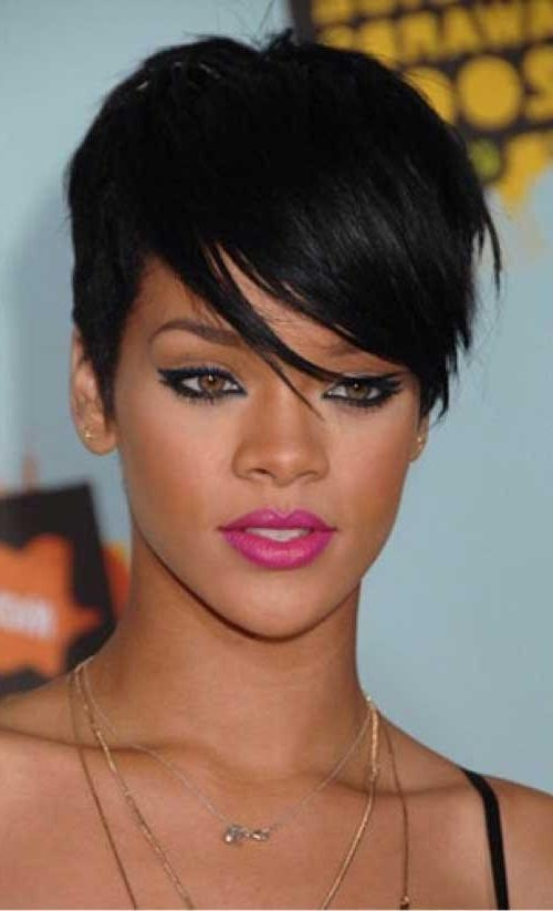 25+ Rihanna Pixie Cuts (View 5 of 20)