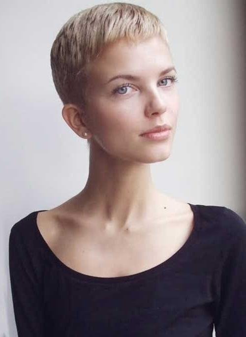 25 Super Short Pixie Cut (View 3 of 20)