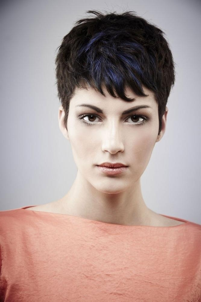 26 Best Short Haircuts For Long Face – Popular Haircuts With Preferred Pixie Haircuts For Oblong Face (View 5 of 20)