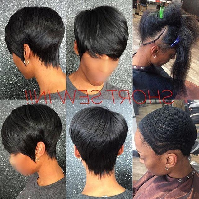 27 In Well Liked Pixie Haircuts With Weave (View 1 of 20)
