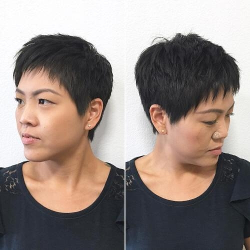 28 Cutest Pixie Cut Ideas Trending For 2018 For 2018 Pixie Haircuts For Thick Coarse Hair (View 2 of 20)