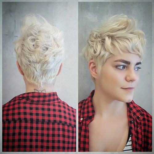 28 Cutest Pixie Cut Ideas Trending For 2018 Pertaining To Best And Newest Chic Pixie Haircuts (View 12 of 20)