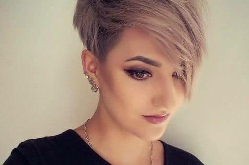 28 Cutest Pixie Cut Ideas Trending For 2018 Pertaining To Most Recent Hot Pixie Haircuts (View 4 of 20)