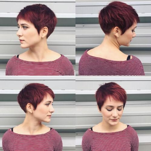 28 Cutest Pixie Cut Ideas Trending For 2018 With Newest Pixie Haircuts For Thick Coarse Hair (View 3 of 20)