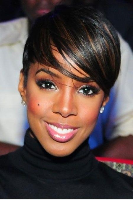 28 Trendy Black Women Hairstyles For Short Hair – Popular Haircuts With Widely Used Short Pixie Haircuts For Black Hair (View 6 of 20)