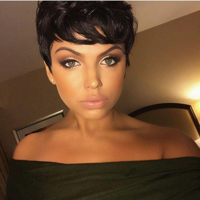 30 Hottest Pixie Haircuts 2018 – Classic To Edgy Pixie Hairstyles Pertaining To Well Known Brunette Pixie Haircuts (View 18 of 20)