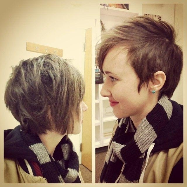 30 Hottest Pixie Haircuts 2018 – Classic To Edgy Pixie Hairstyles With Favorite Punk Pixie Haircuts (View 7 of 20)