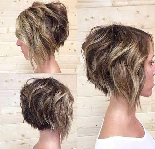 30 Stacked Bob Haircuts For Sophisticated Short Haired Women In Most Recent Short Stacked Pixie Haircuts (View 5 of 20)