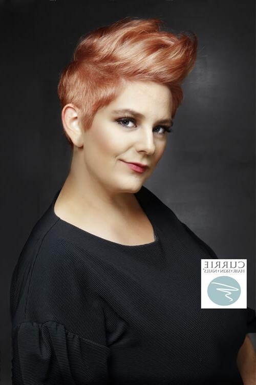 31 Short Hairstyles For Round Faces You Can Rock! Intended For Most Recently Released Short Pixie Haircuts For Round Face (View 6 of 20)