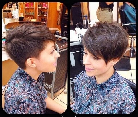 33 Cool Short Pixie Haircuts For 2018 – Pretty Designs Regarding Most Recently Released Pixie Haircuts With Shaved Sides (View 4 of 20)