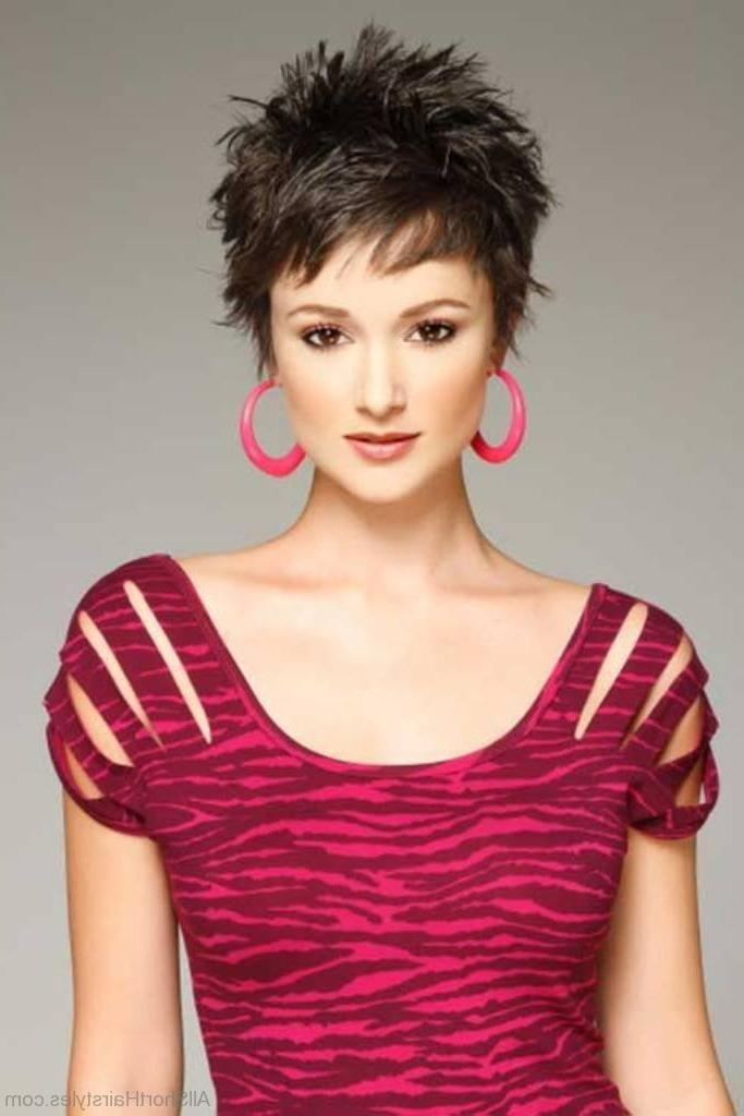 39 Excellent Short Spiky Haircuts Throughout Latest Short Spiky Pixie Haircuts (View 3 of 20)