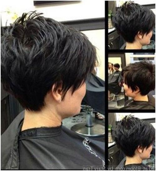 40 Trendy Pixie Cuts To Enhance Your Look Regarding 2018 Pixie Haircuts Front And Back (View 18 of 20)