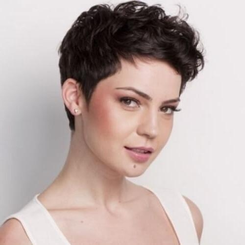 50 Best Curly Pixie Cut Ideas That Flatter Your Face Shape (View 6 of 20)