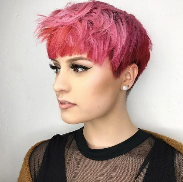 50 Chic & Stylish Pixie Cuts – Style Skinner Pertaining To 2018 Blunt Pixie Haircuts (View 4 of 20)