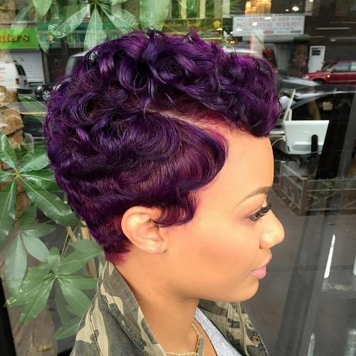 50 Most Captivating African American Short Hairstyles And Haircuts Intended For Best And Newest Black Girl Pixie Haircuts (View 3 of 20)
