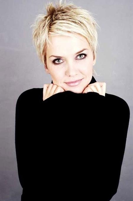80+ Short Blonde Pixie Haircuts 2017 – Blonde Hairstyles 2017 With Well Known Short Blonde Pixie Haircuts (View 4 of 20)